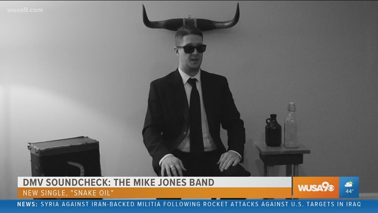 DMV Soundcheck: The Mike Jones Band