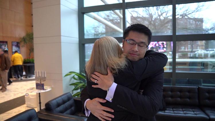 David Chung meets Gretchen Riccardi