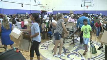 A drive for school supplies for families in need is being held in Montgomery County