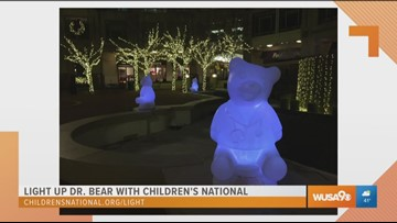 Light up Dr. Bear with Children's National