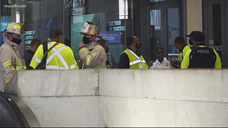 100 Metro riders evacuated after train brake issue on Yellow Line train