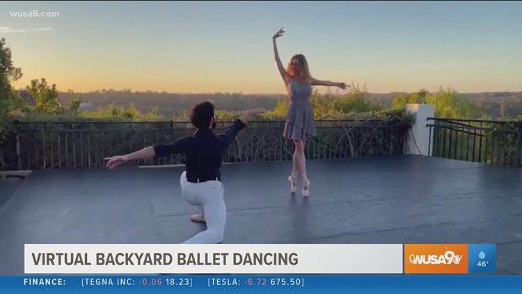 Ballet goes to the backyard with special performances that stream live every week