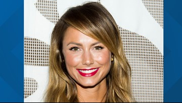 Former WWE star, Ravens cheerleader Stacey Keibler post an Instagram pic from her time in Baltimore