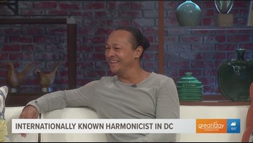 International harmonicist adds his own style to the traditional instrument
