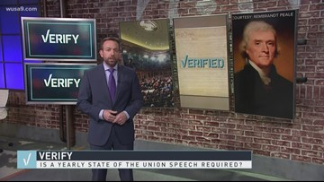 VERIFY: Yes, the President it required to brief Congress on the State of the Union, but that doesn't require a speech