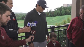Ryan Kerrigan hosts golf classic kickoff event