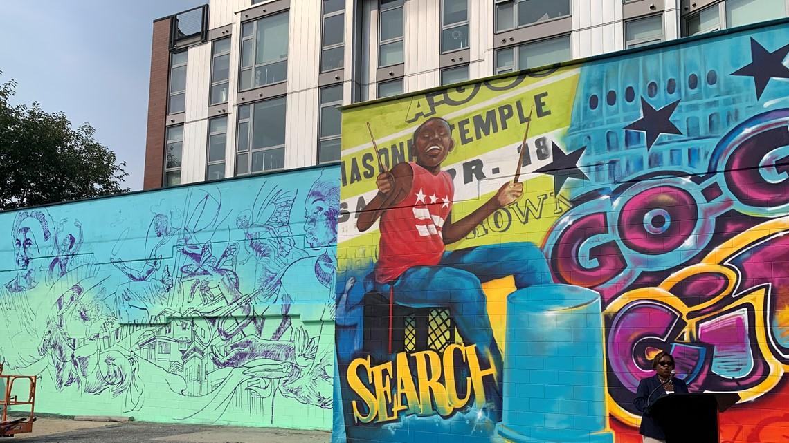 New mural celebrates Go-Go music in DC