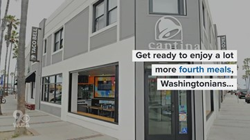 Taco Bell Cantina serving alcohol in DC