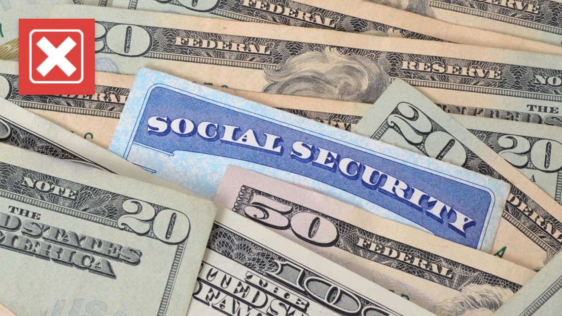 VERIFY: No, Social Security will not go broke in 12 years