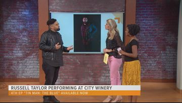 Russell Taylor performs at City Winery in DC