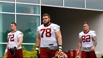Redskins rookie raising money after tornadoes hit hometown