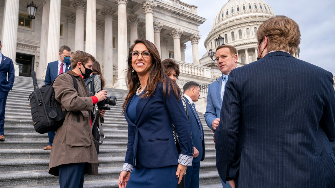 Gop Congresswoman Conceal Carry Permit Lauren Boebert Wusa9 Com