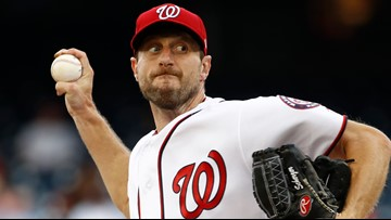 Happy anniversary, Max Scherzer! Here's a look at what you've meant to Nationals fans for the last 5 years