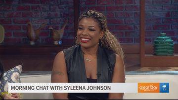 GRAMMY nominated artist Syleena Johnson talks about new music & hit show, Sister Circle