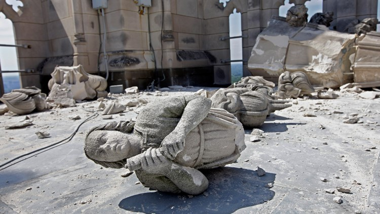 It could take 10 more years to finish National Cathedral earthquake repairs. Here's how to help