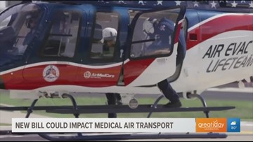 New bill can have a strong impact on air medical services