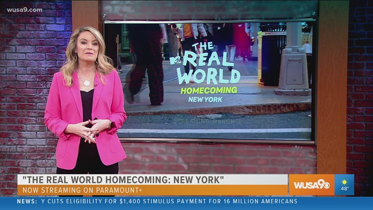 The Real World reunion show streaming now