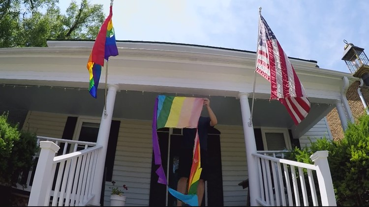 LGBTQ flags stolen, slashed  in a small Virginia town