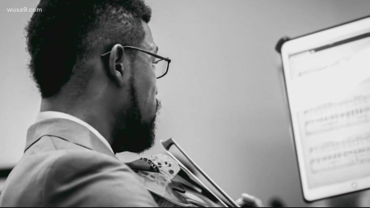 Violinist becomes a Prince George's County police officer   Get Uplifted