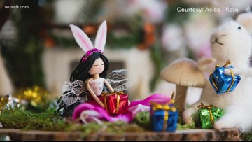 Children's Hospital patients have partnered with DC designers to create festive holiday decorations