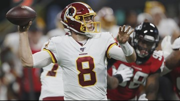 Case Keenum deserves love despite Redskins' 0-2 start
