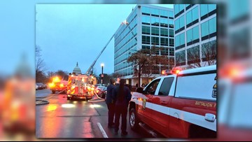 DC television studios evacuated due to electrical fire