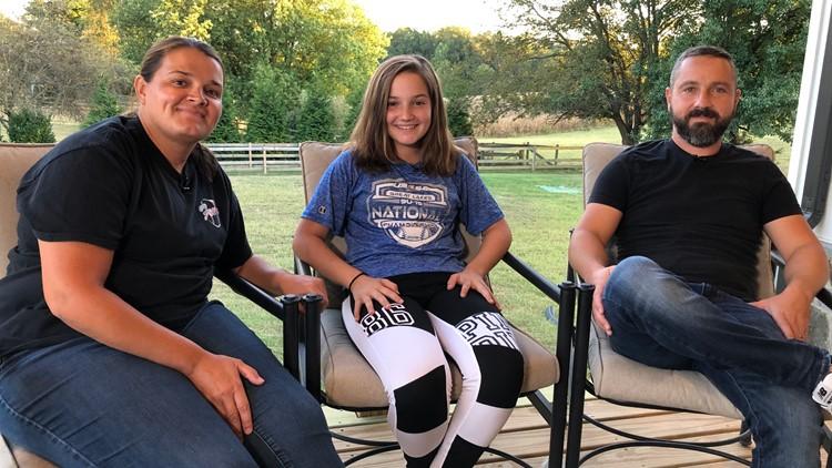 Joelle Lazaris and her Parents