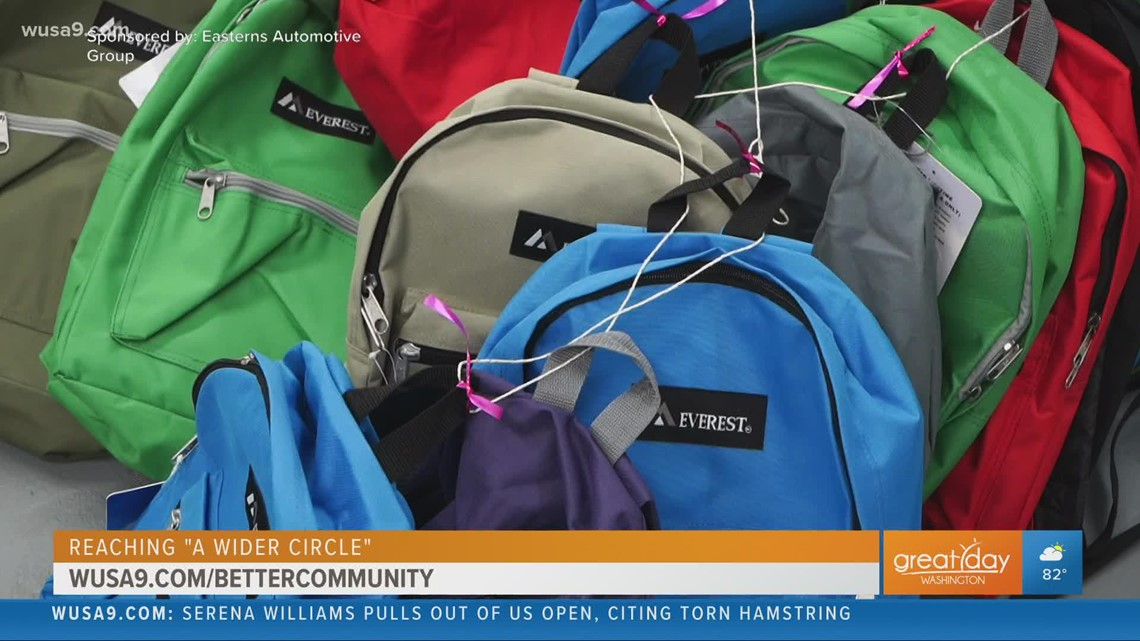 DC area nonprofit is helping families get supplies for the new school year