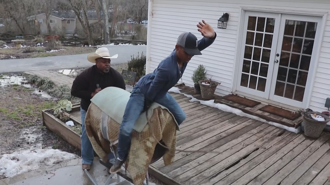 Prince George's County native making waves in Americas bull riding community
