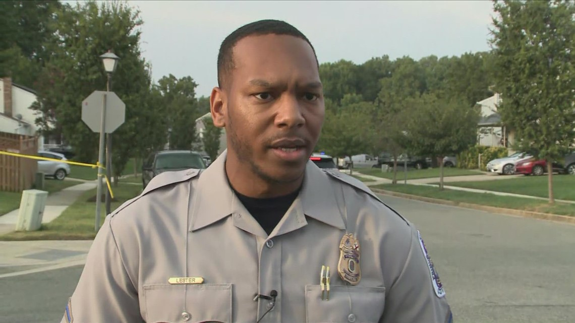 PGPD Spokesperson details the scene of a barricade incident in Upper Marlboro