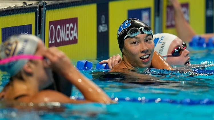 Tokyo Bound   Arlington native makes US Olympic Team day after breaking American 100m butterfly record