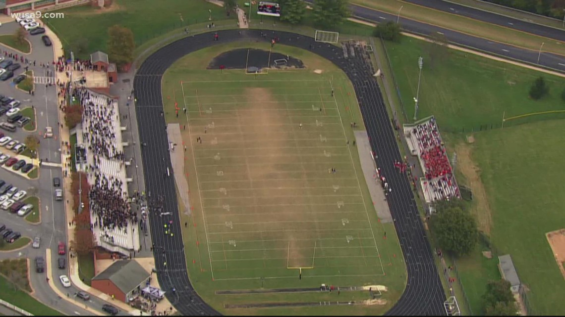 Northwest vs Quince Orchard football game ends without incident