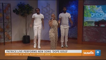 Patrice Live graces the Great Day stage with new single 'Dope Gold'