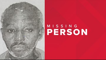 CRITICAL MISSING: 68-year-old man from Southeast