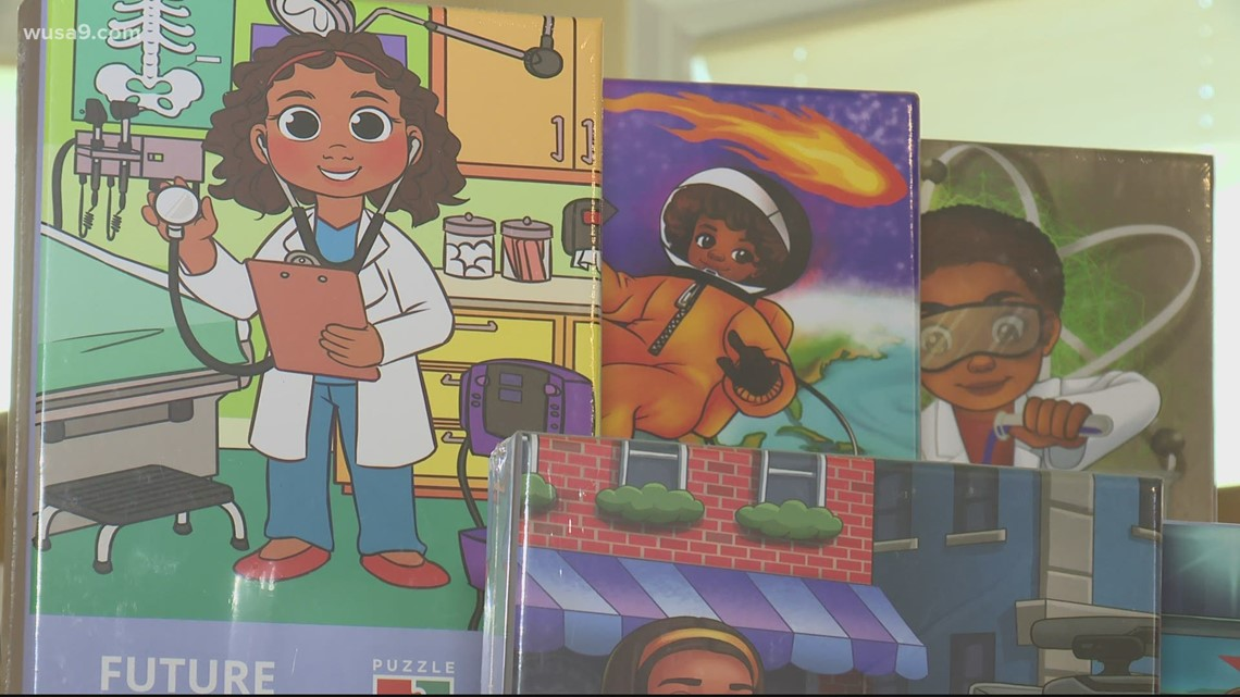 DC couple brings diversity to puzzles