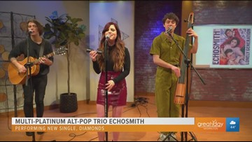 Multi-platinum group Echosmith performs latest single from the album 'Lonely Generation'