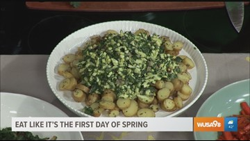 Transition from hearty winter meals to healthy spring dishes