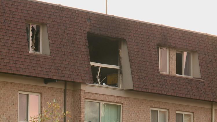 Cider Mill apartment damage