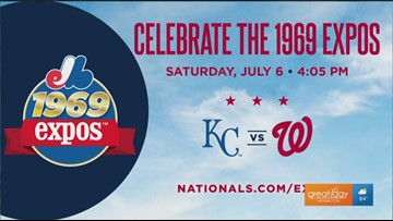 Go back in time for the Nats throwback night and other themed events