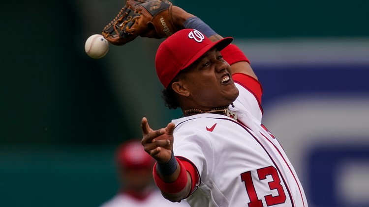 Nationals Infielder Starlin Castro on administrative leave after domestic violence accusations