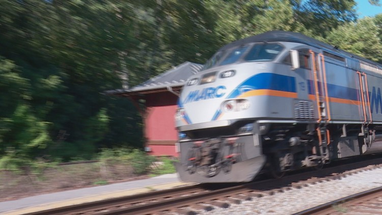 Maryland proposes cutting MARC train service to West Virginia