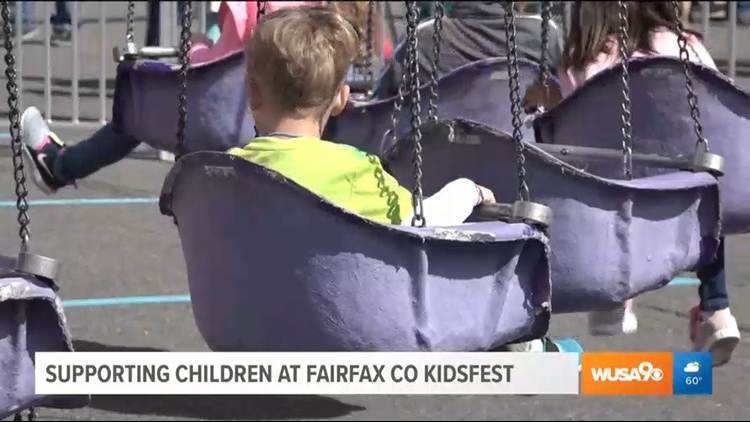 Apple Federal Credit Union helps Fairfax kids enjoy a day at the fair