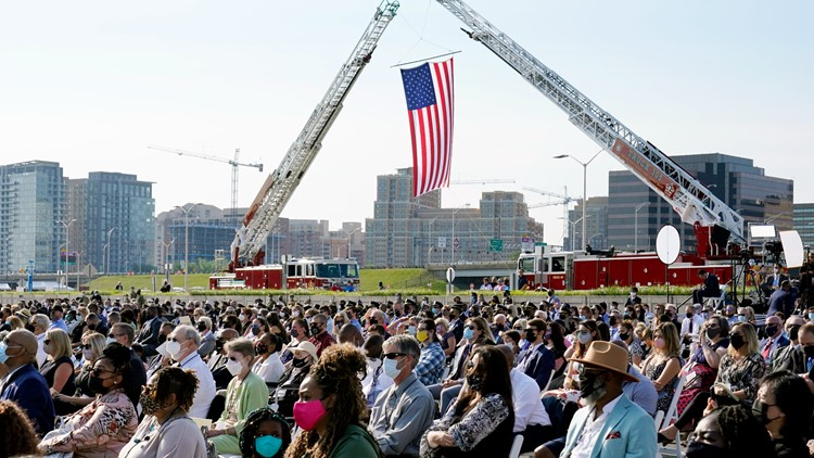 Pentagon honors lives lost on Sept. 11