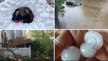 Here are the top 5 weather events of 2019 around the DMV