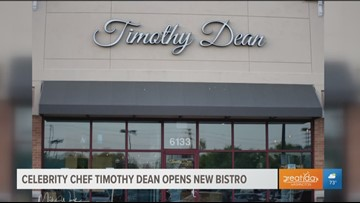 Celebrity Chef Timothy Dean showcases dishes from his new bistro