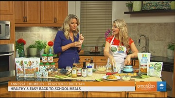 Healthy & easy back to school meals with products by Open Nature and O Organics