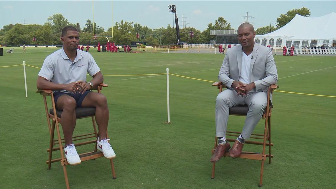 Washington Football Team President Jason Wright interviewed by WUSA9