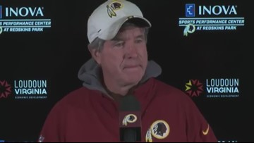 Redskins Bill Callahan discusses Montae Nicholson