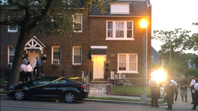 Police searching for clues after juvenile and adult man found dead in Northeast DC