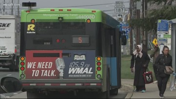 On trains, buses and Metrorail, MD Gov. Hogan is clear: Stay off